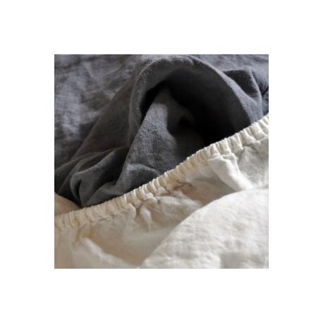 drap housse 100 coton biologique. Black Bedroom Furniture Sets. Home Design Ideas