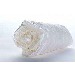 Drap-housse soie ivoire 19 mm