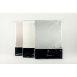 Taie d'oreiller en soie ivoire Premium 22mm - Ivoire, taupe ou argent