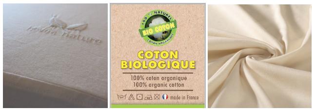 Toile et Jersey de coton bio