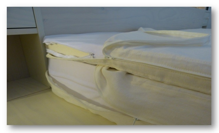Le Matelas Bio Ideal Hevea Nature